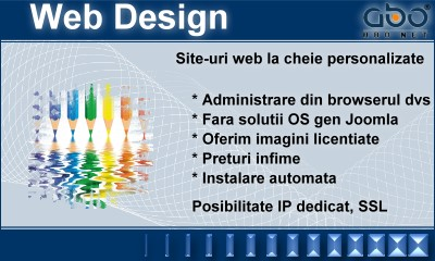 Web Design AUTOMATIC Inregistrari domeniu web domeniu domeniu .com